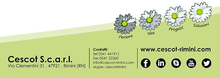 Cescot Rimini - Info e Social